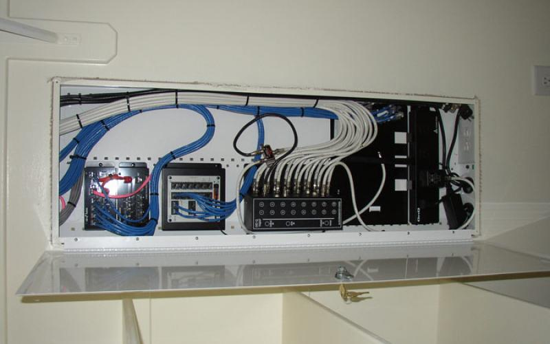 Wired Computer Network Installation