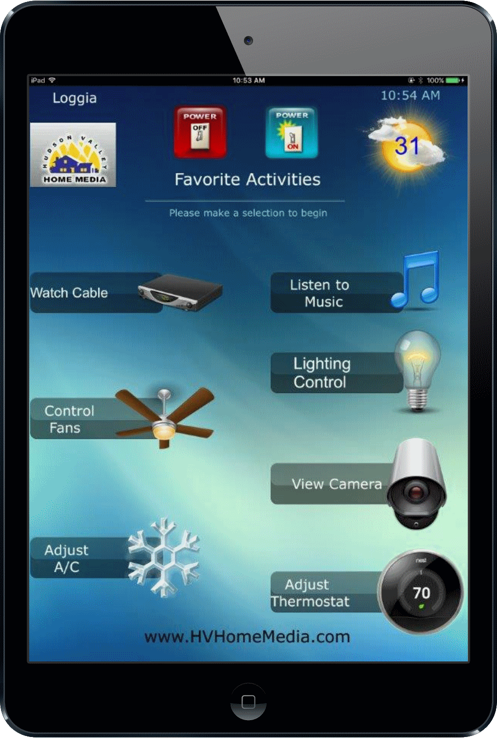 Universal Ipad Remote - Nyack, NY - HV Home Media - Hudson Valley Home Media - Smart Home Whole House Automation
