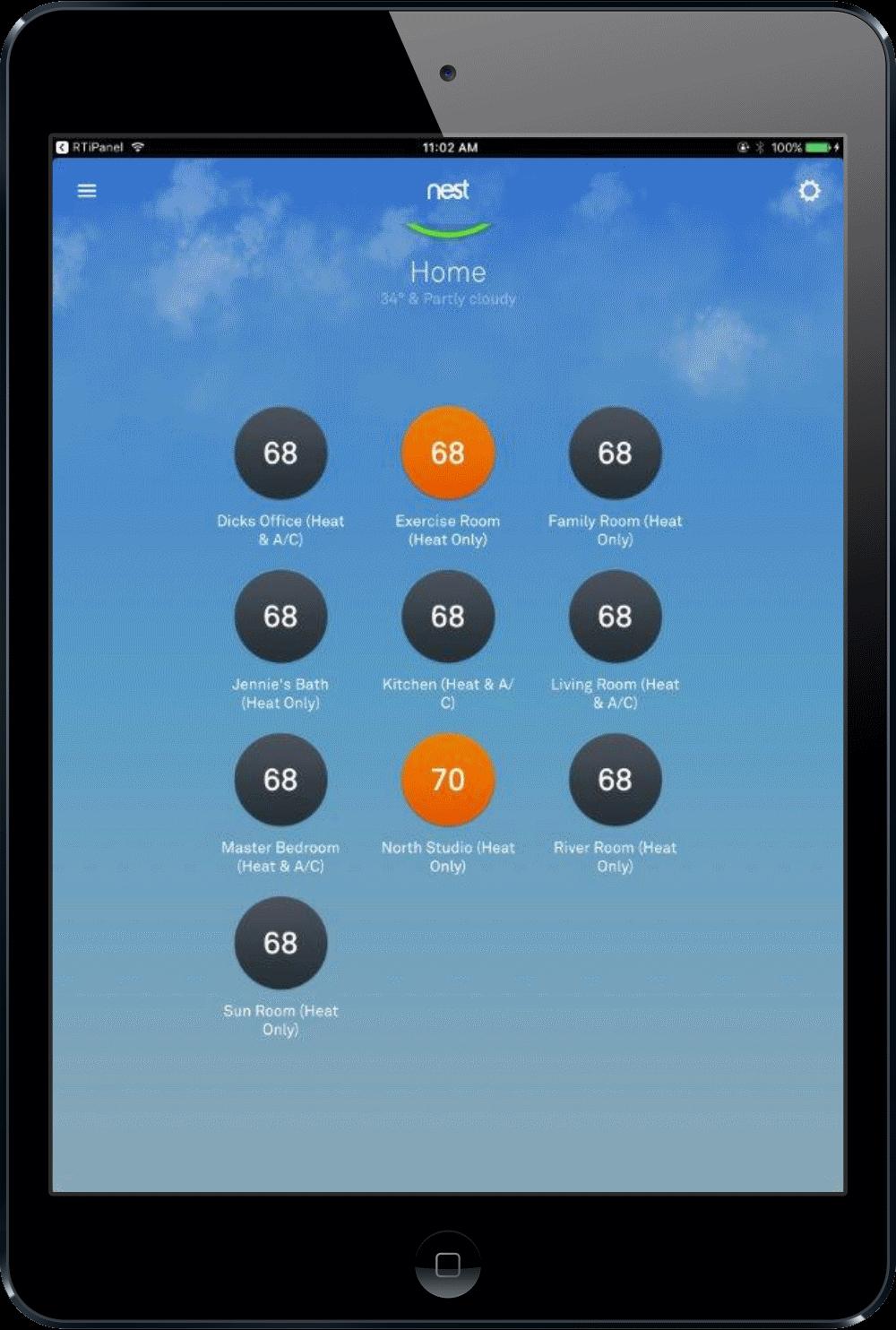 Control Temperatures