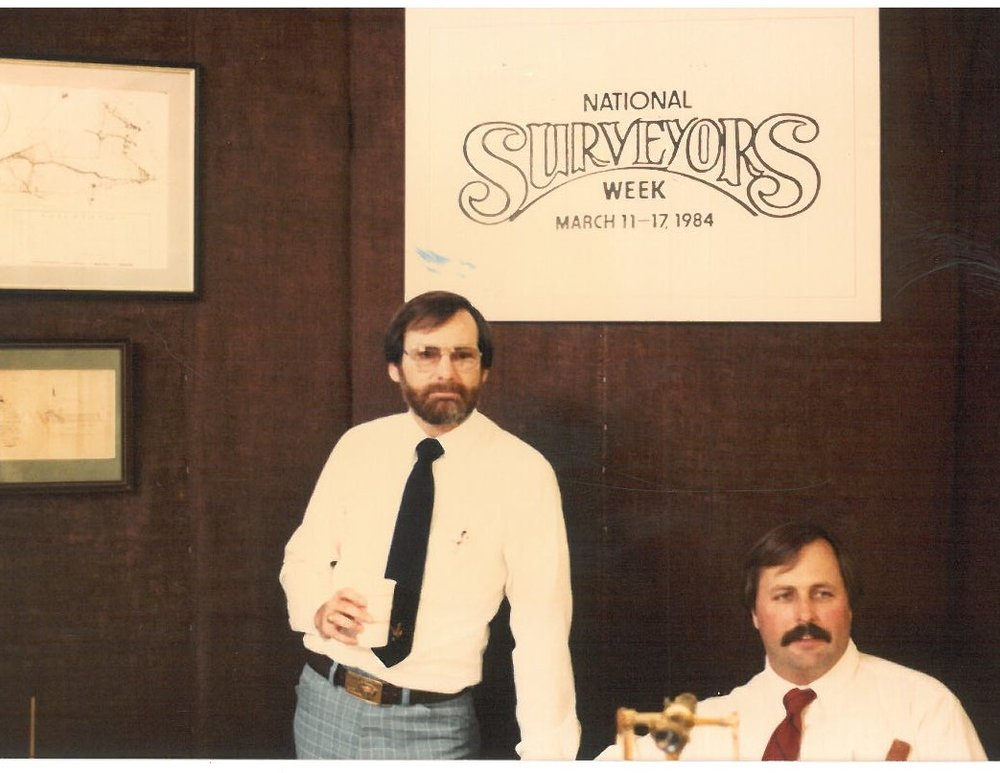 National Surveyors Display 1984