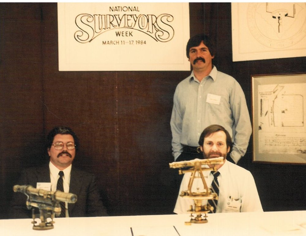 National Surveyor Display 1984