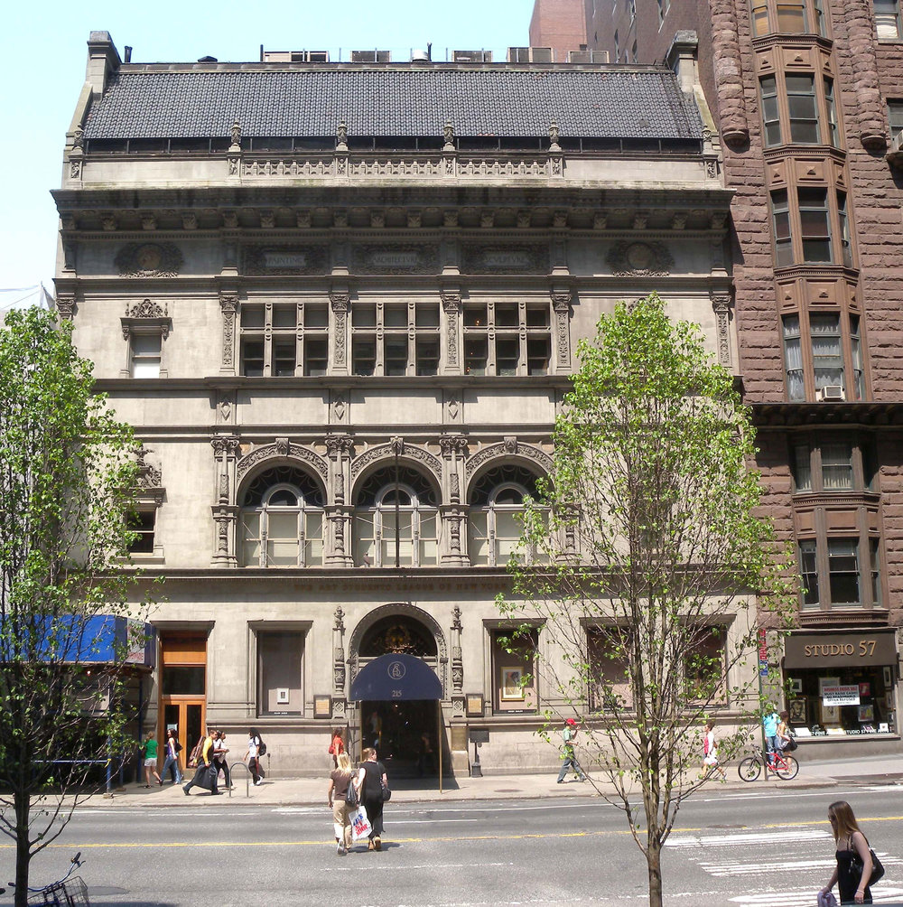The Art Students League building on West 57th Street.