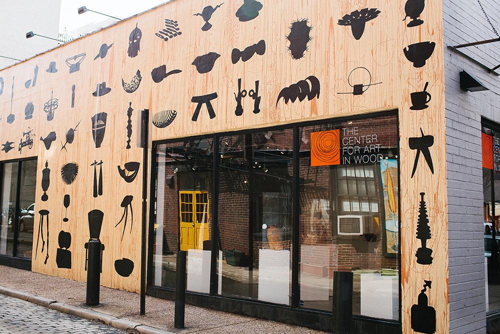 The Center for Art in Wood in Old City, Philadelphia