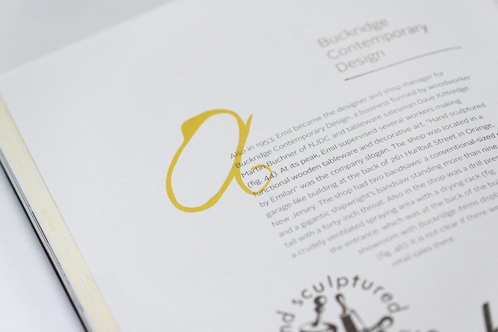 Printed on art-quality 157gsm paper that feels like butter as you thumb through the gorgeous spreads of the book.