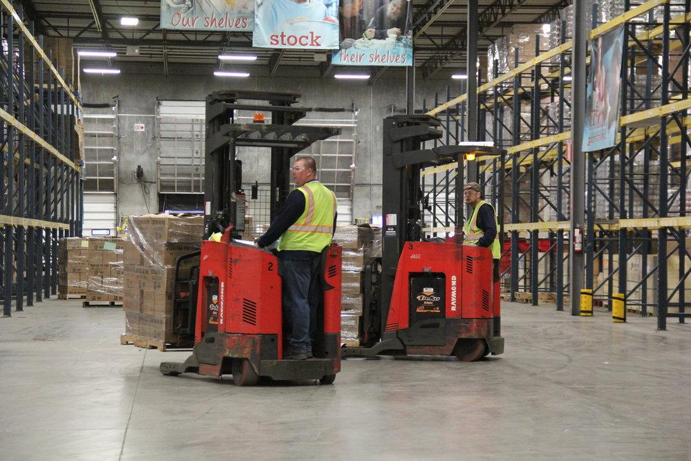 Warehouse forklifts .JPG