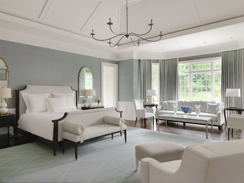 After a long day, the homeowners head straight back to the new master bedroom suite, their own private sanctuary.
