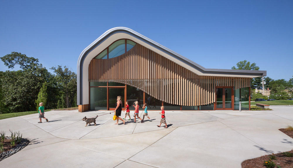 Adam Aronson Fine Arts Center. Photo By Sam Fentress.