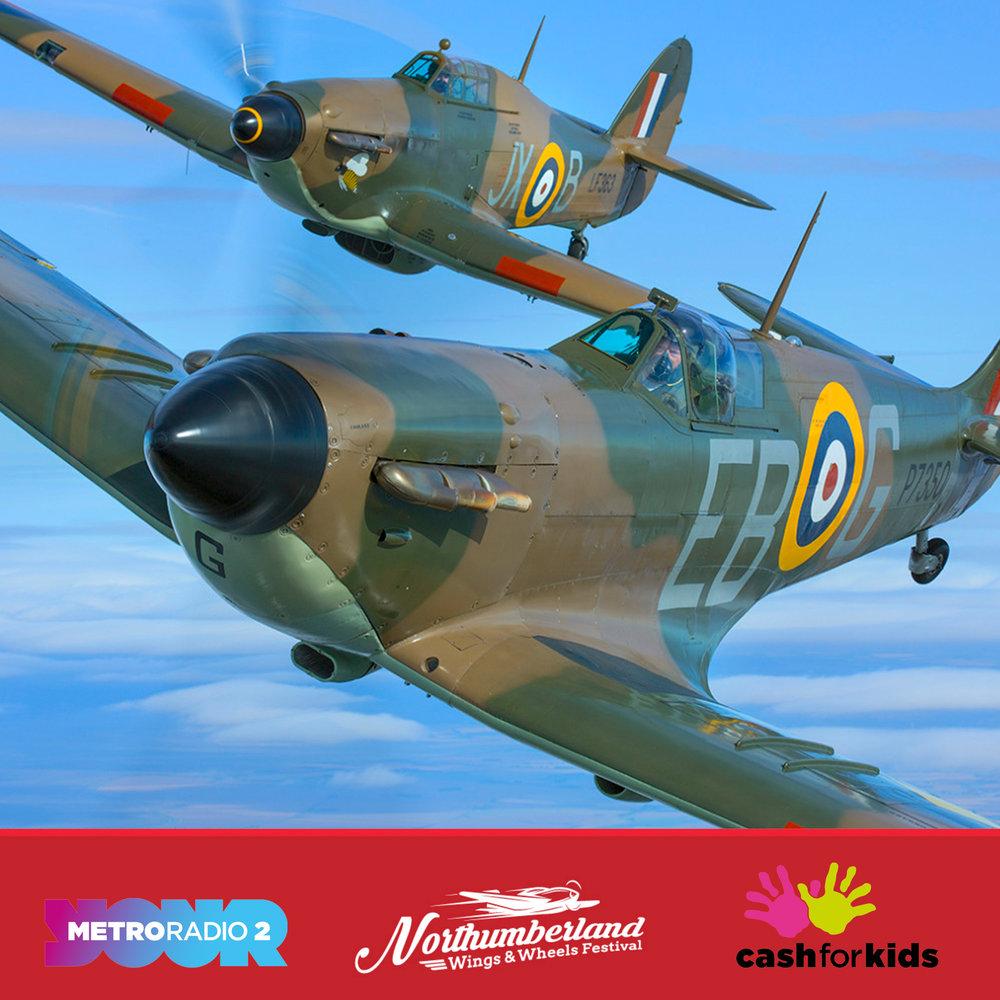 NWWF Spitfire & Hurricane