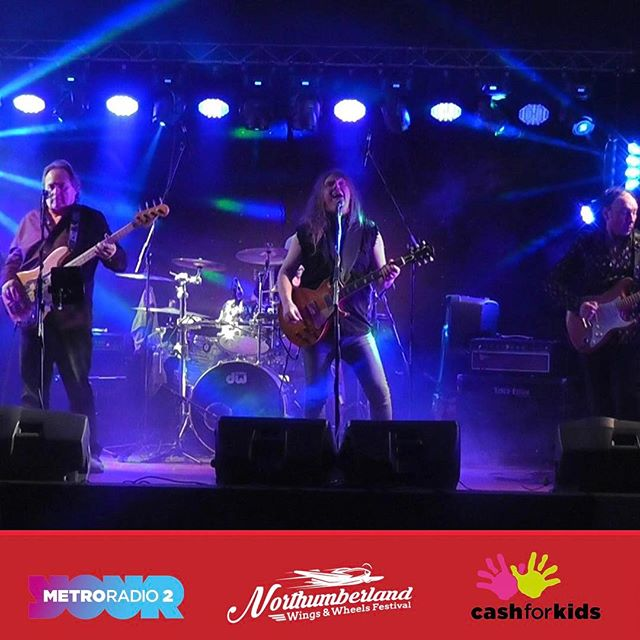 With awesome local rock bands performing on our stage you'll find the entertainment going on well into the night! #nwwf #northumberland #festival #band #live