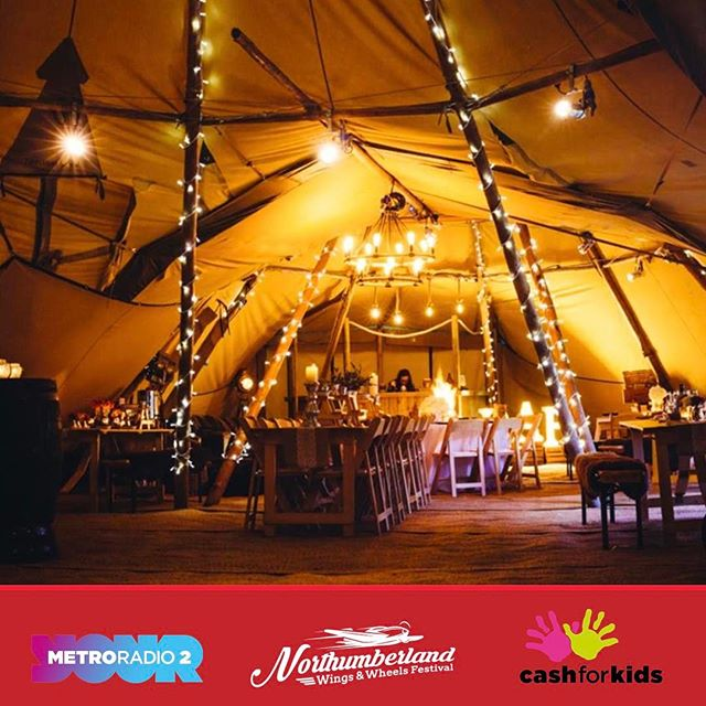 The amazing VIP tent will be open Saturday & Sunday - a perfect networking opportunity for local businesses #nwwf #festival #vip #business #nordic