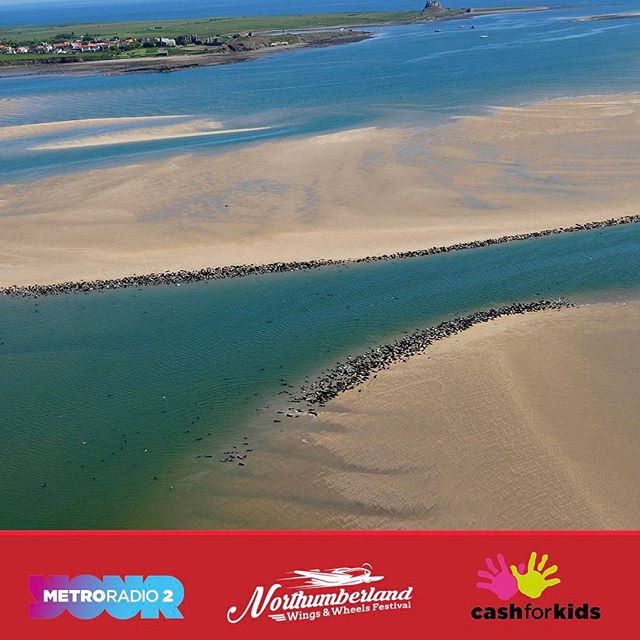 From just £50 you can fly with Purple Aviation at the Festival. See the beautiful coastline around Northumberland #nofilter #nwwf #festival #northumberland @northumberland_uk @northumberland_pictures