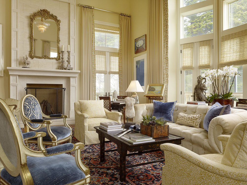 formal traditional living room