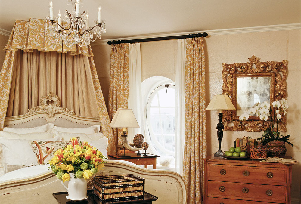 french guest bedroom