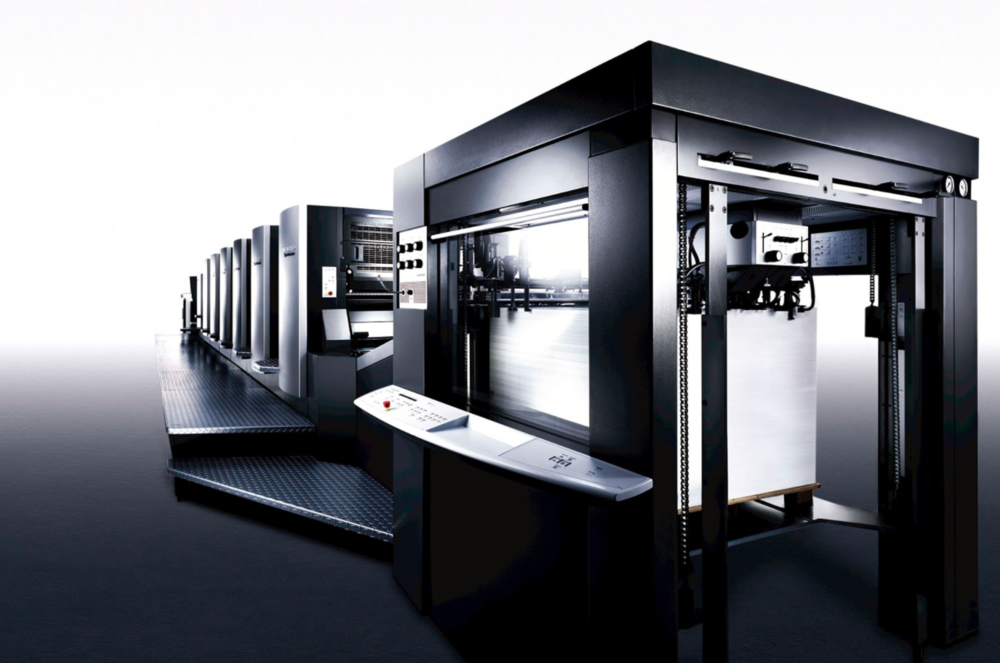 Heidelberg Speedmaster UV Press UV Printing