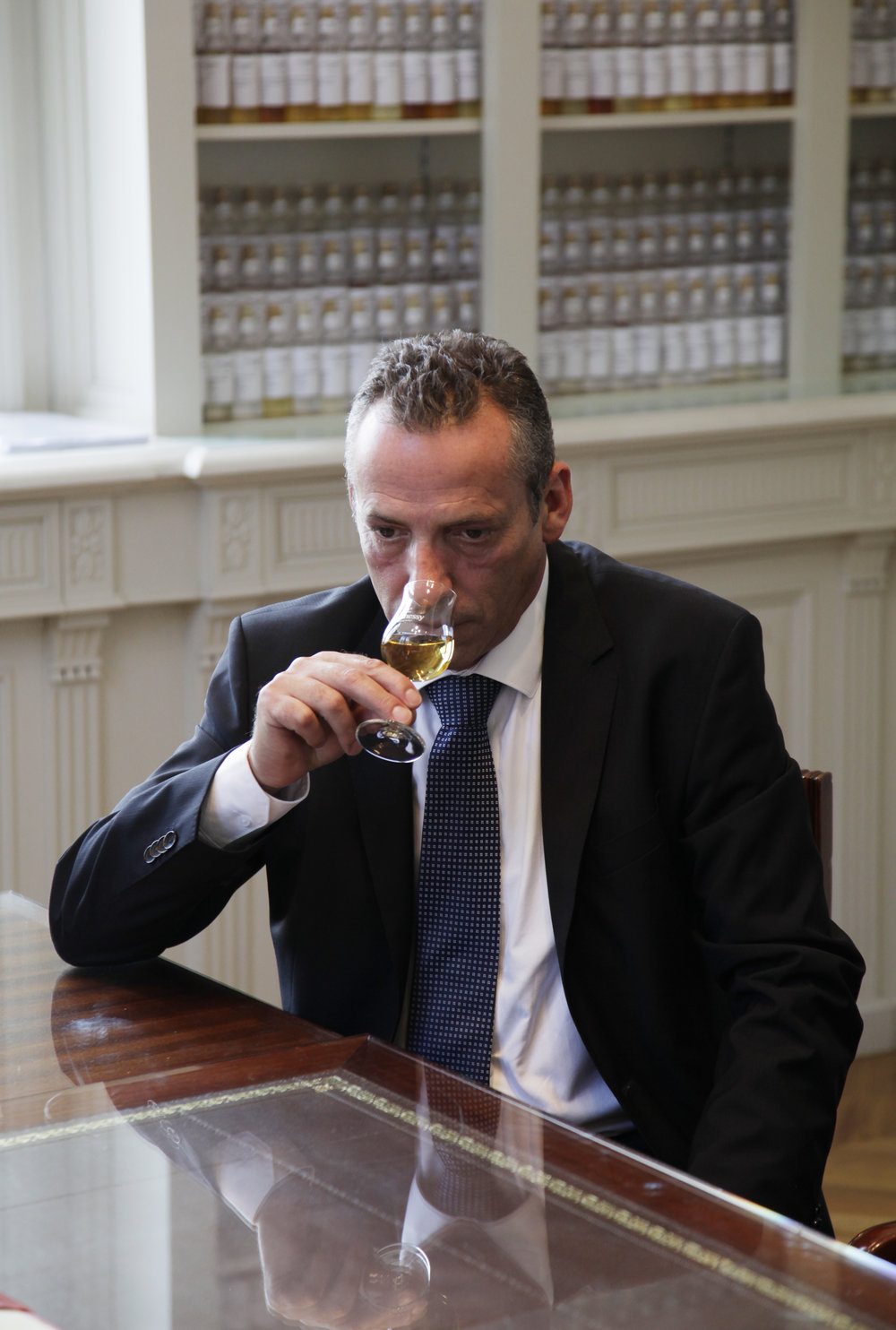 Hennessy tasting committee member Olivier Paultes,