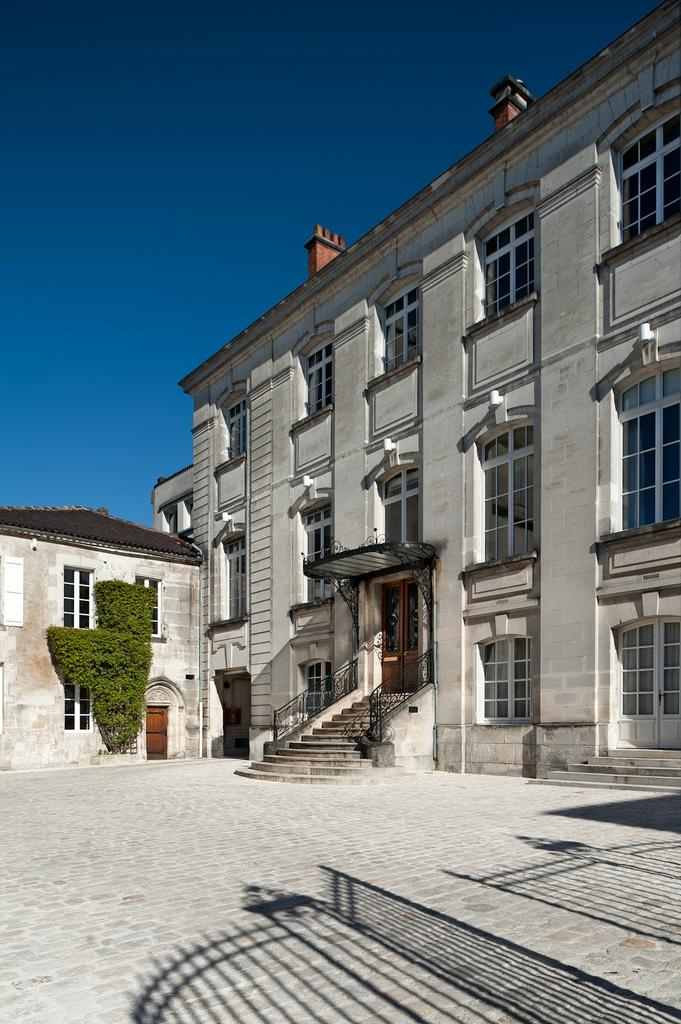 Hennessy headquarters in Cognac, France.
