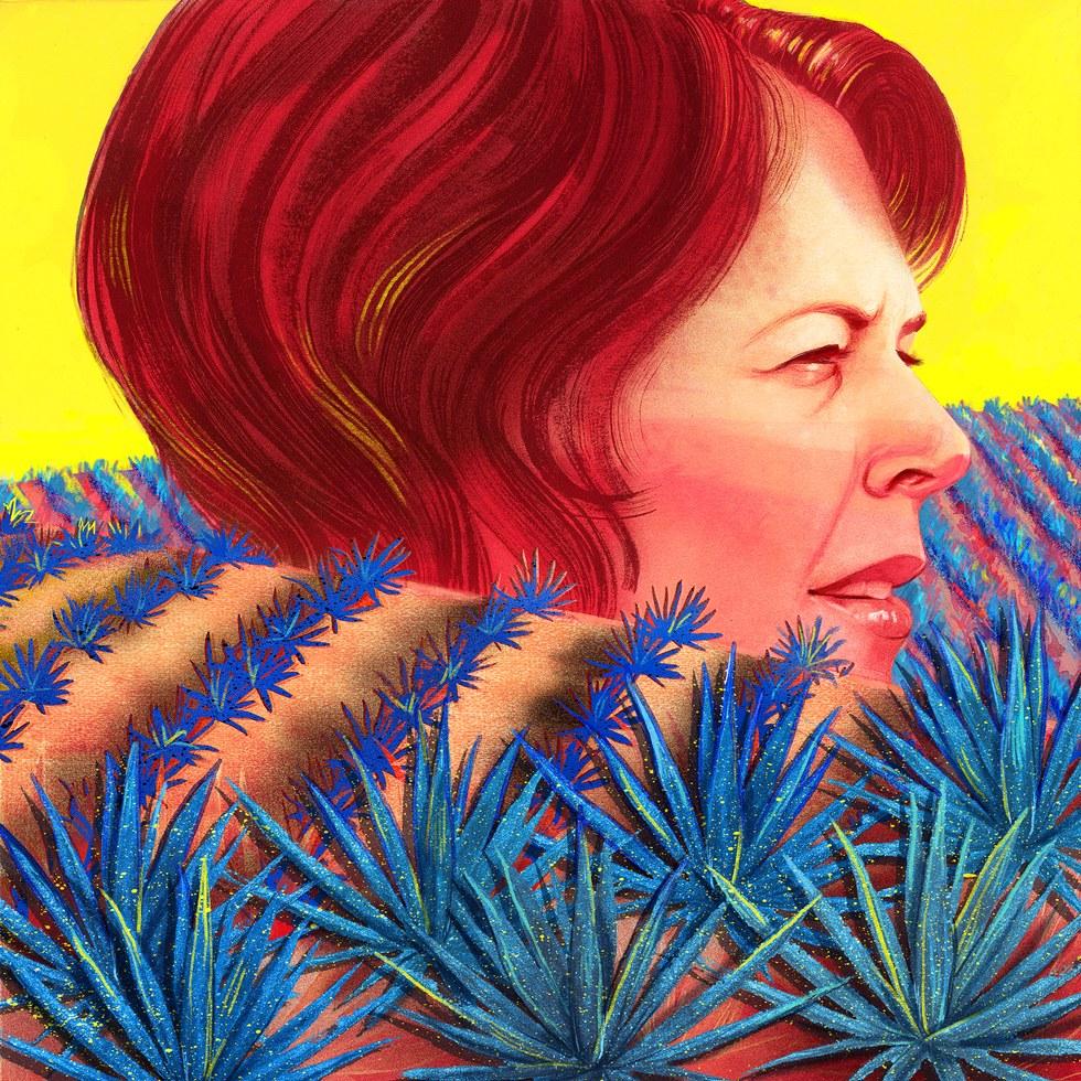 Illustration by Zoe Van Dijk.