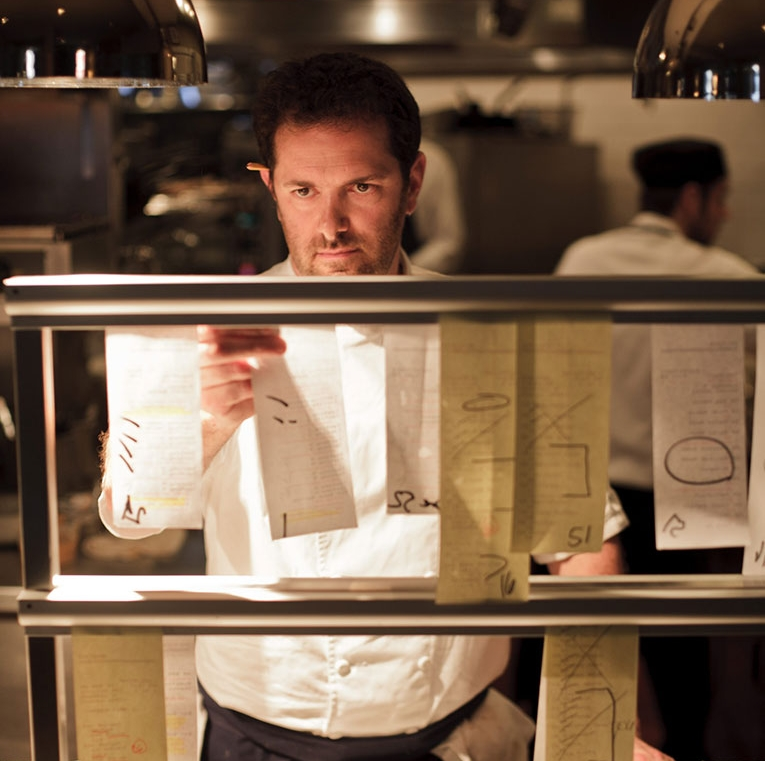 Chef Tony Maws - Belief in getting fresh, local ingredients from New England and the French