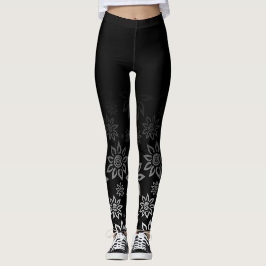 People seem to like this black and white design for leggings and so I've sold three pairs before even marketing my new Zazzle store. Brilliantly happy, that's me. I hope the new owners love their Art of Where leggings as much as I love my own.