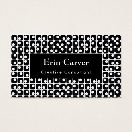 rounded_squares_retro_black_white_pattern_business_card.jpg