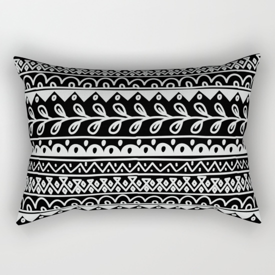 black-and-white-doodle-patterns-in-rows-cozy-weekend127103-rectangular-pillows.jpg