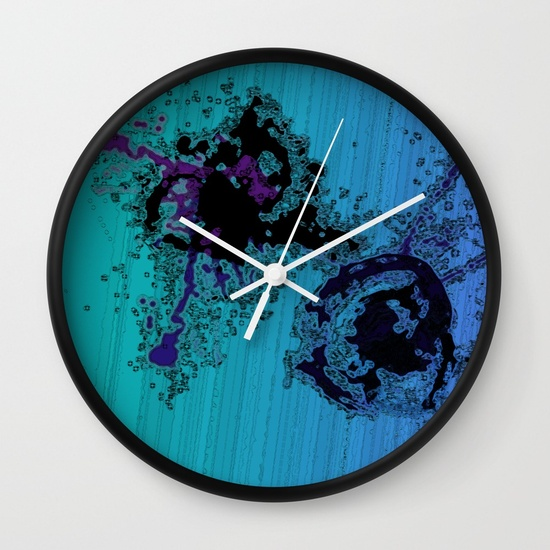tango-on-monday-blue-teal-green-black-abstract-art-wall-clocks-designed-by-melody-watson-with-society6.jpg