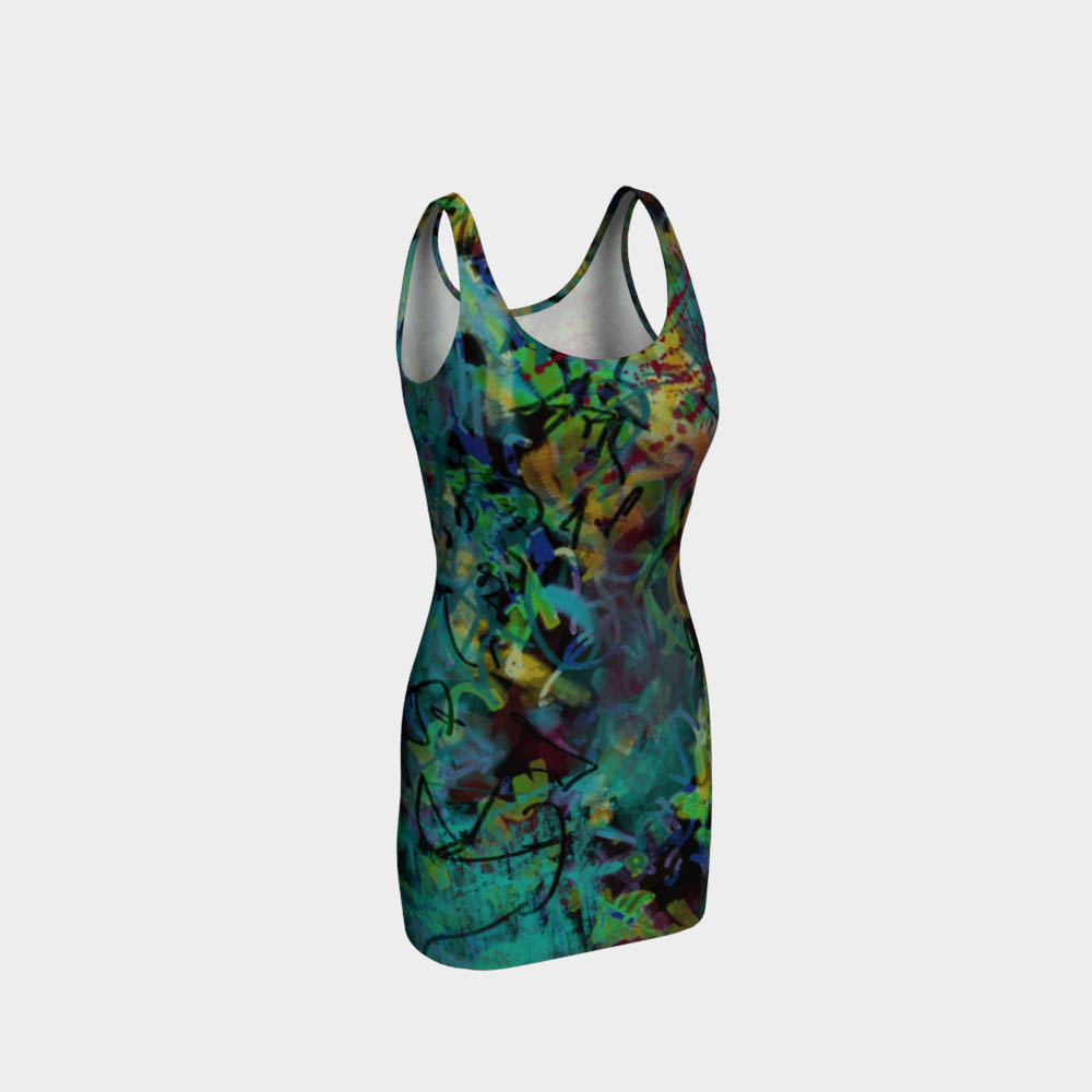 blue-green-yellow-black-red-splashes-abstract-art-bodycon-dress-415341-designed-by-melody-watson.jpg