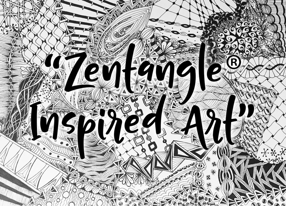 Image result for what is zentangle method