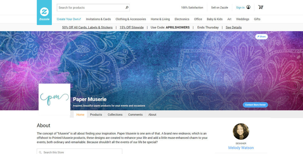 Paper Muserie Screenshot