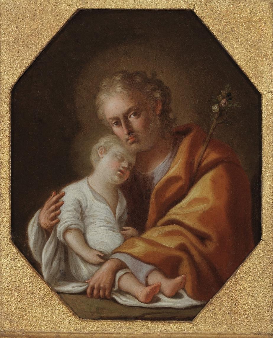 PIETRO BARDELLINO Joseph and the Christ Child