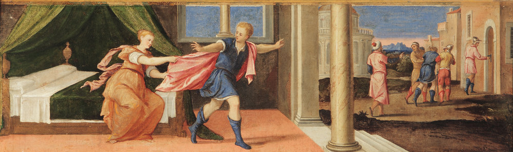 BONIFAZIO VERONESE   Joseph and Potiphar's Wife