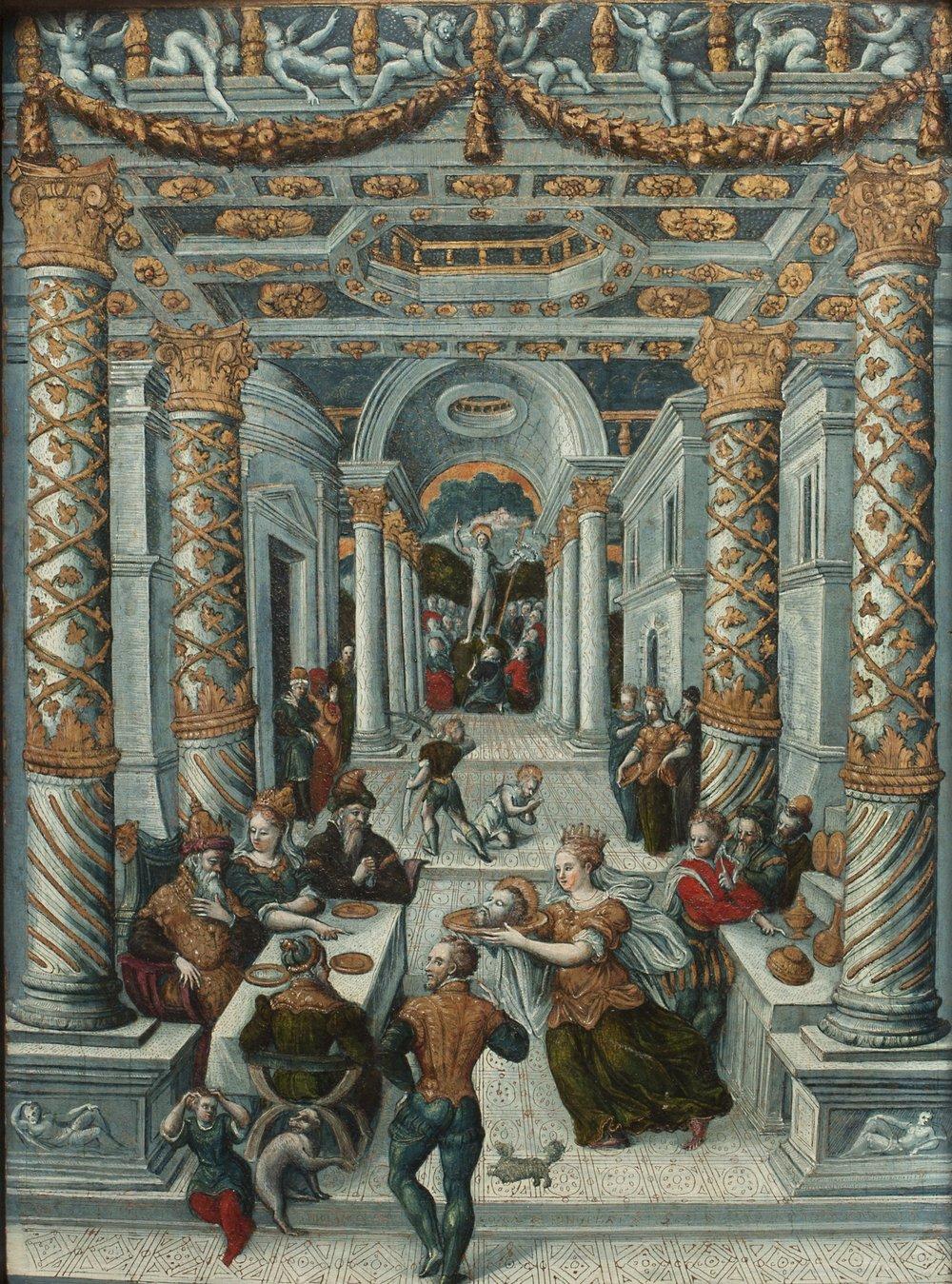 GIROLAMO COMI Scenes from the Life of St. John the Baptist