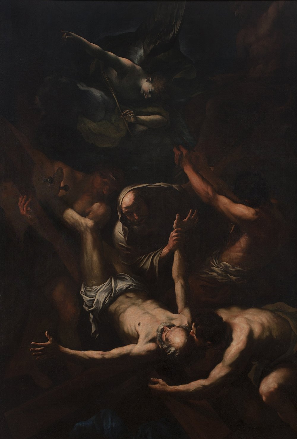 GIOVANNI BATTISTA BEINASCHI   The Martyrdom of Saint Peter