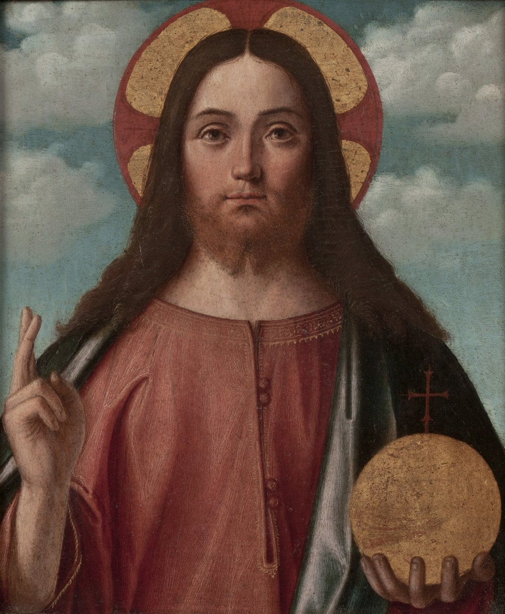 VITTORE CARPACCIO   Christ Blessing (Christ as Salvator Mundi)