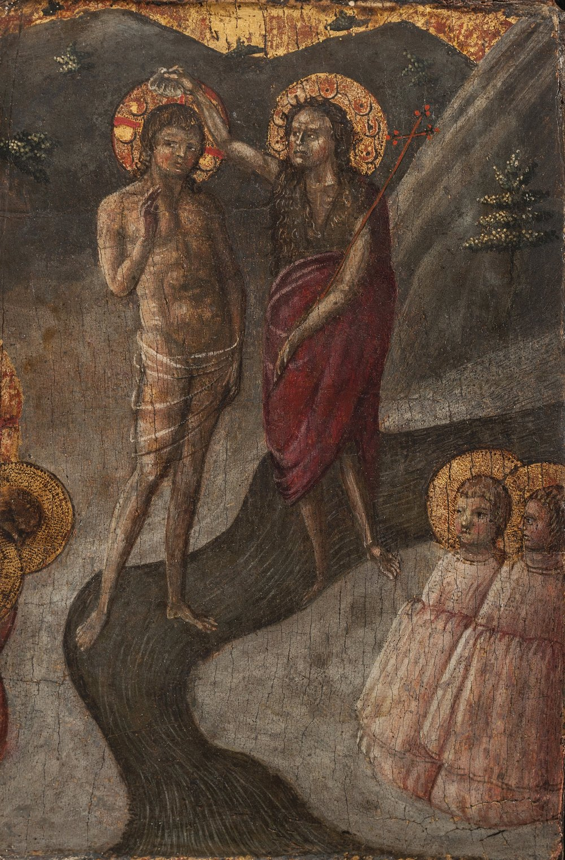 BORGHESE DI PIETRO  (or BORGHESE DI PIERO BORGHESE) Baptism of Christ