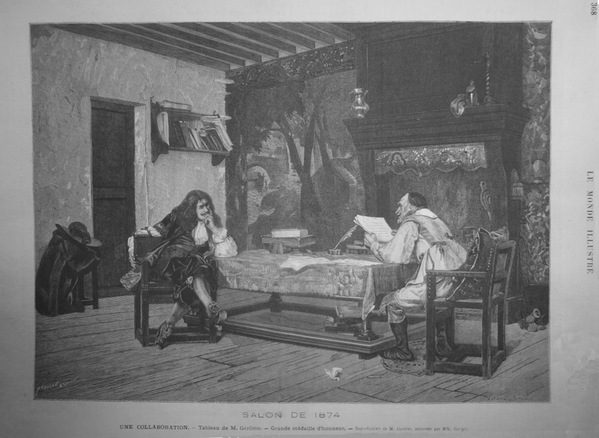 Engraving published in Le Monde Illustre (1874), p. 368