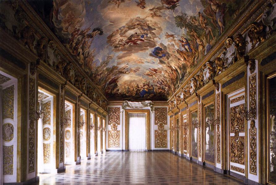 Luca Giordano: Frescoes in the Galleria Riccardi, Palazzo Medici-Riccardi, Florence