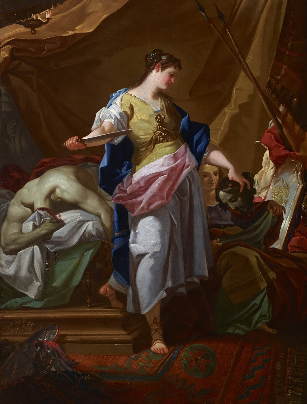 CORRADO GIAQUINTO Judith and Holofernes