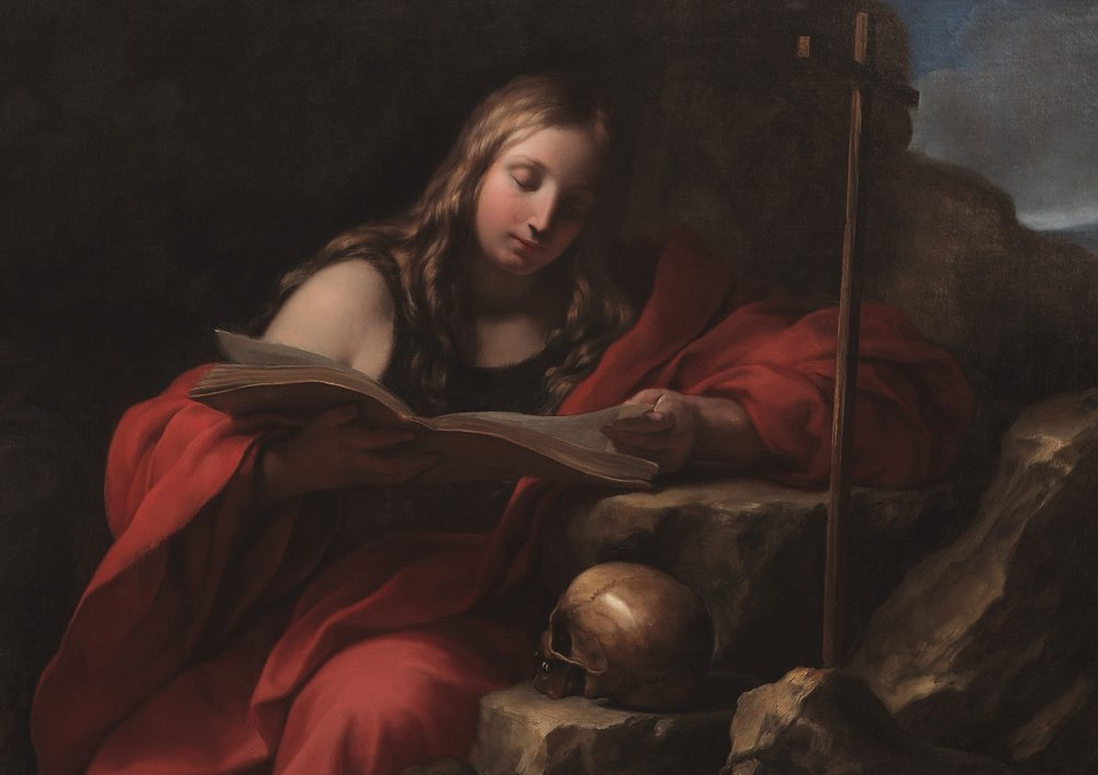 ONORIO MARINARI   The Penitent Magdalene