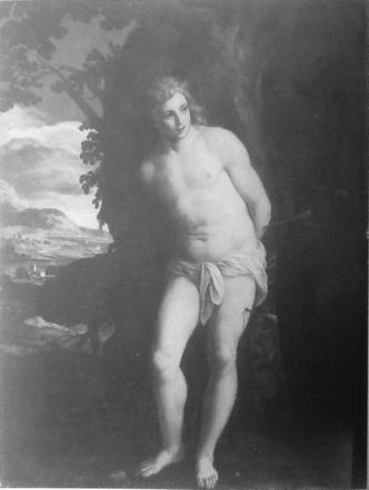 2) Alessandro Turchi, called l'Orbetto, Oil on canvas, 132 x 106 cm, Milan, Museo d'Arte Antica del Castello Sforzesco (inv. 23)