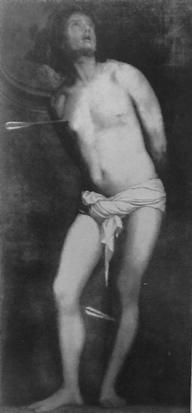 6) Pordenone or Natalino da Murano, oil on canvas, 188 x 92 cm.  Formerly (?) Harrach Collection, Vienna, no. WF 256.