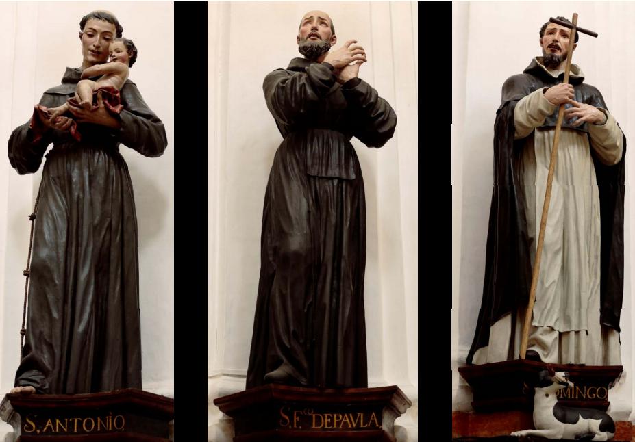 Fig. 2B José de Mora, serie de santos, capilla del Cardenal Salazar, Catedral de Córdoba