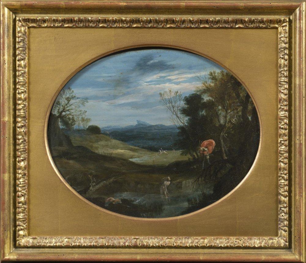 Giovanni Battista Viola,  Two Scenes of  Diana and Actaeon