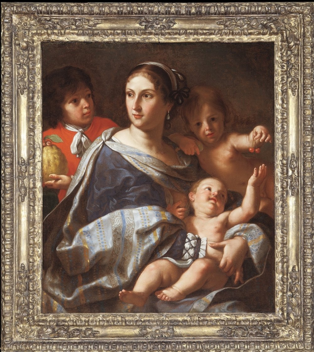 Elisabetta Sirani,  Portrait of Anna Maria Ranuzzi as Charity