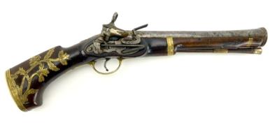 Miquelet Blunderbuss pistol, Ripoll, ca. 1774