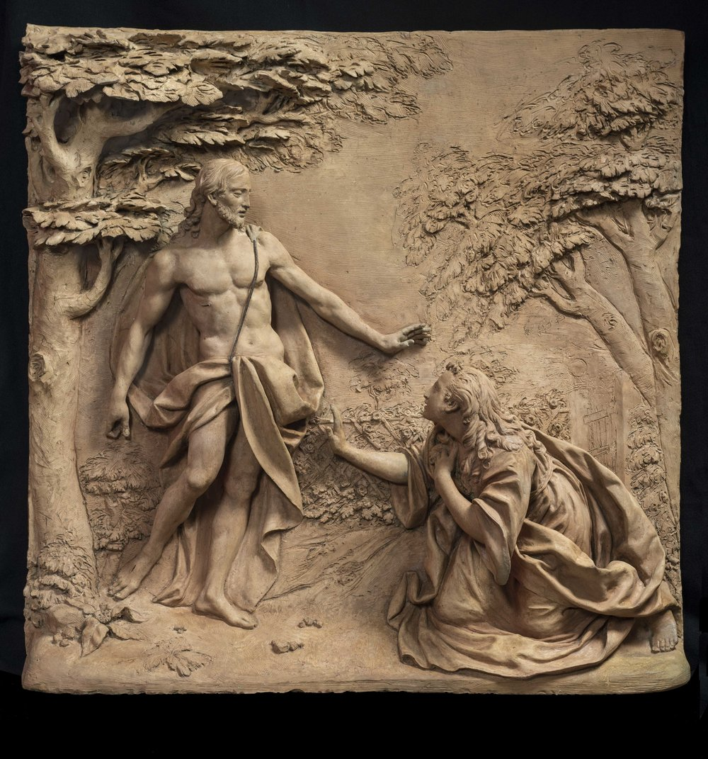 Robert Simon Fine Art is pleased to announce its recent sale of a terracotta sculpture by Guiseppe Maria Mazza:Noli Me Tangere -