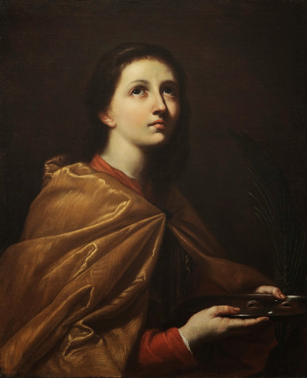 Robert Simon Fine Art is pleased to announce its recent sale of Giovanni Do's St. Lucy (Santa Lucia) -
