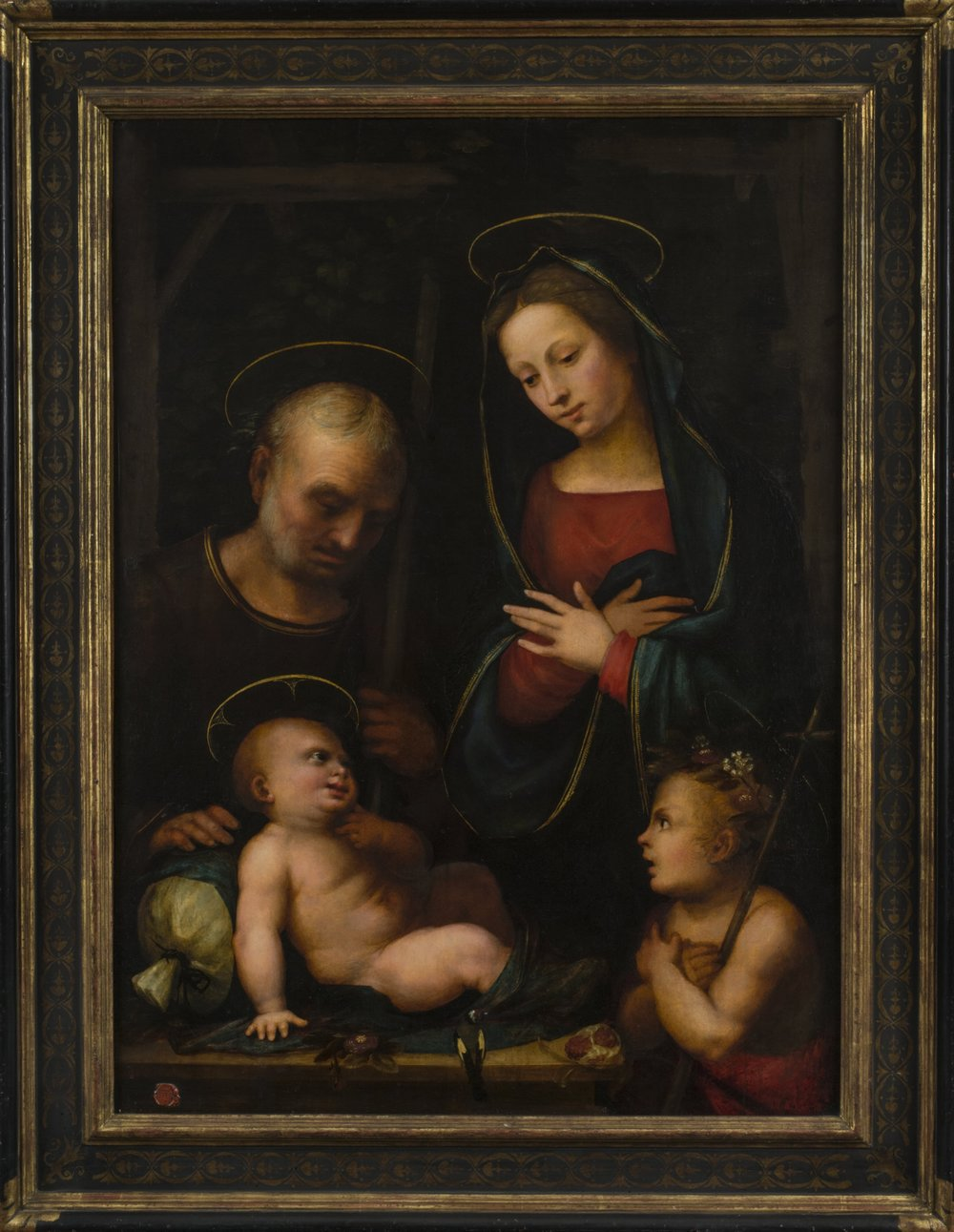 Mariotto Albertinelli,  The Holy Family with St. John the Baptist