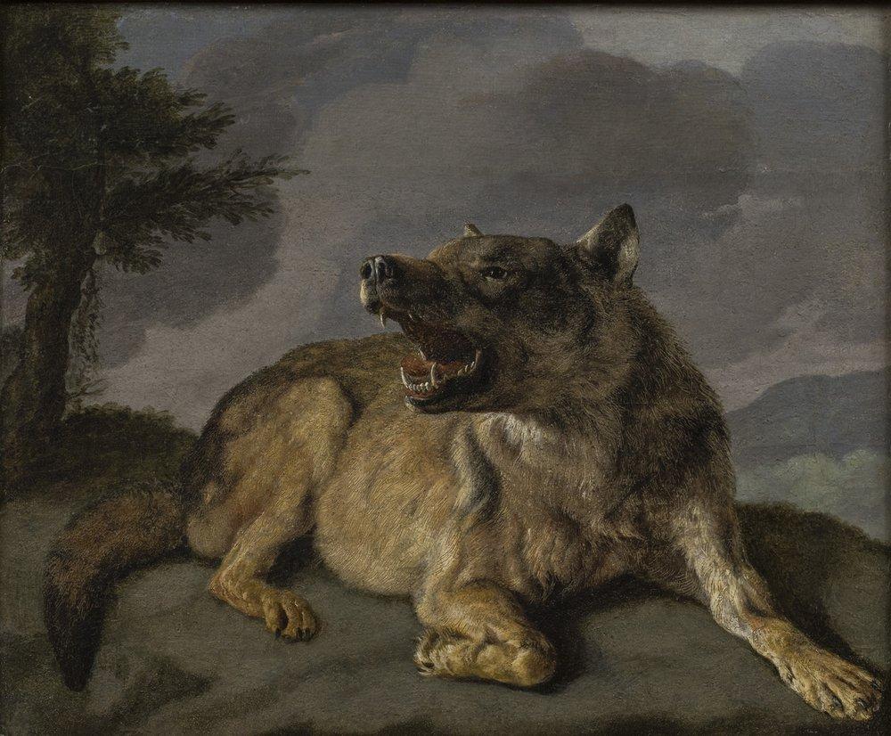 Carl Borromaus Andreas Ruthart   A Wolf