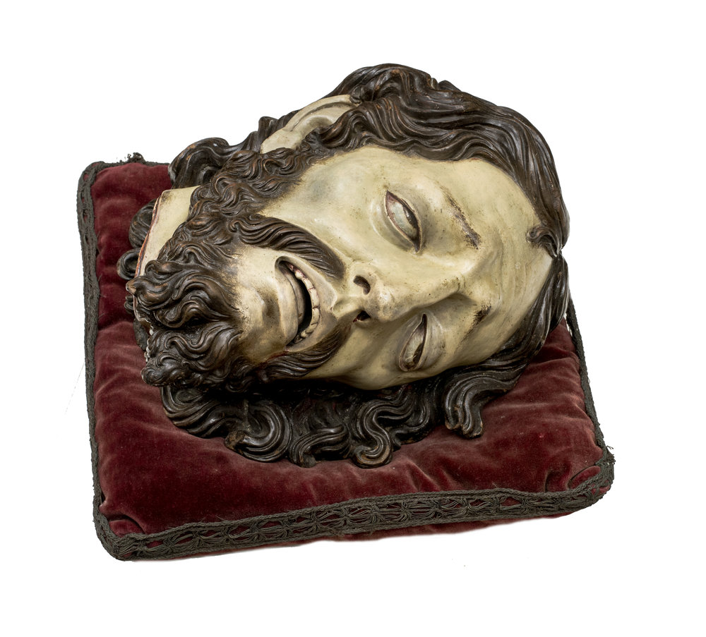 José   de   Mora   Head of Saint John the Baptist